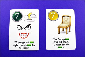Fun Cards: Prepositions, Prepositions
