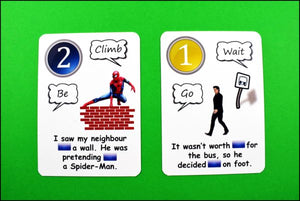Fun Cards: Gerund Vs Infinitive