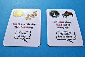 Fun Cards: Pronouns