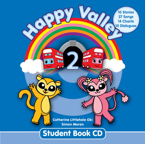 Happy Valley 2 Student Book CD