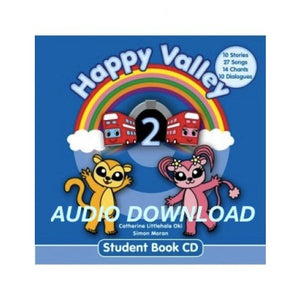 Happy Valley 2 Student Book CD ダウンロード版