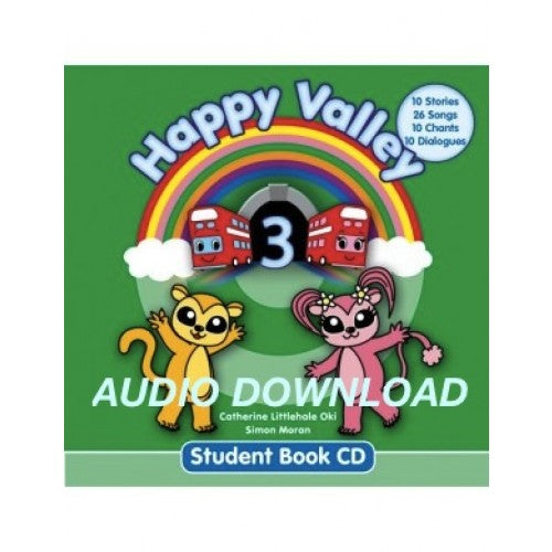 Happy Valley 3 Student Book CD デジタル版