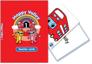 Happy Valley 1 Teacher Flashcards