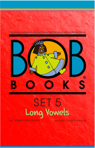 Bob Books English Readers – Long Vowels Digital Edition