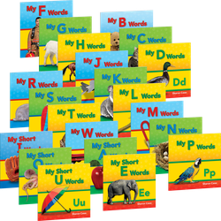 Targeted Phonics: My First Consonants and Vowels (全21冊)