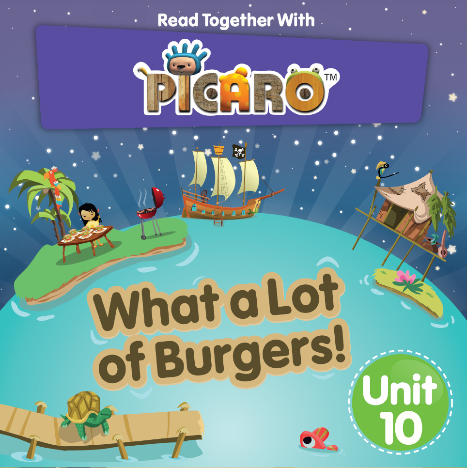 Picaro Storybook Unit 10: What a Lot of Burgers!