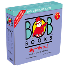 Load image into Gallery viewer, Bob Books English Readers 5 – Sight Words 1 Picture book (12 books in total) + digital version set