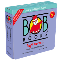 Bob Books English Readers 5 – Sight Words 1 Picture book (12 books in total) + digital version set