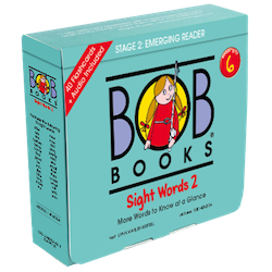 Bob Books English Readers 6 – Sight Words 2