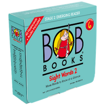 Load image into Gallery viewer, Bob Books English Readers 6 – Sight Words Picture Books (10 books in total) + Digital Edition Set