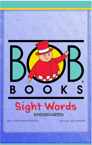 Bob Books English Readers – Sight Words Kindergarten デジタル版