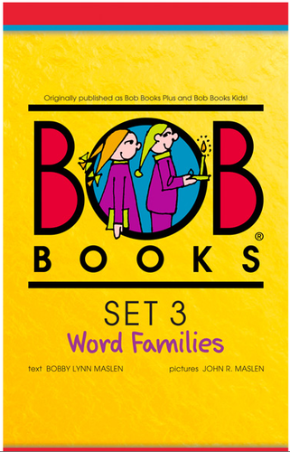 Bob Books English Readers – Word Families Digital Edition