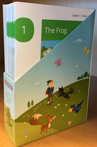 Innova Reading Bookshelf Level 1 Picture book (7 books in total) + digital version set