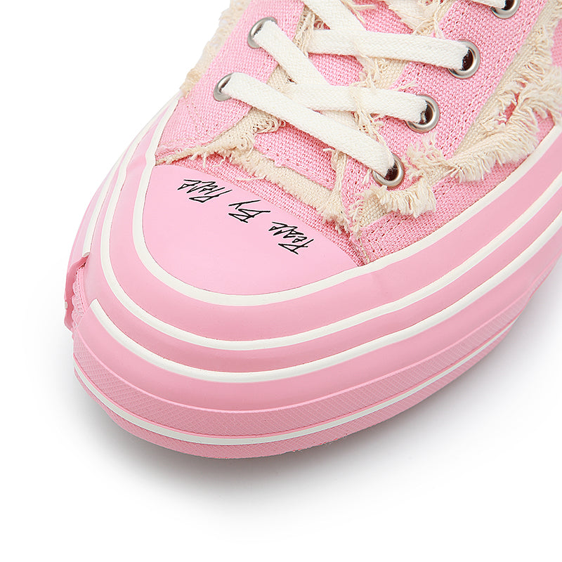 G.O.P.SLIP ON ALL PINK