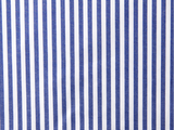 Set: matching shirts for father and son, dark blue stripes