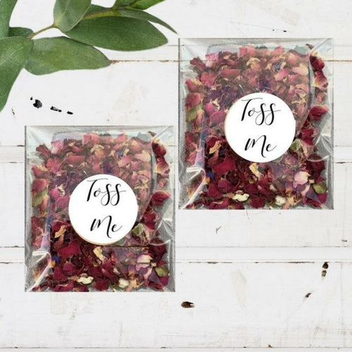 Biodegradable Flower Confetti Packs