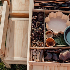 Nature Box open on wooden table