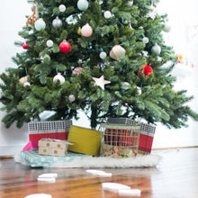 Load image into Gallery viewer, Santa-footprints-leading-to-the-Christmas-Tree