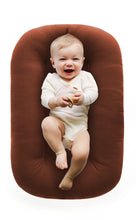 Load image into Gallery viewer, baby-lying-in-baby-nest-lounger