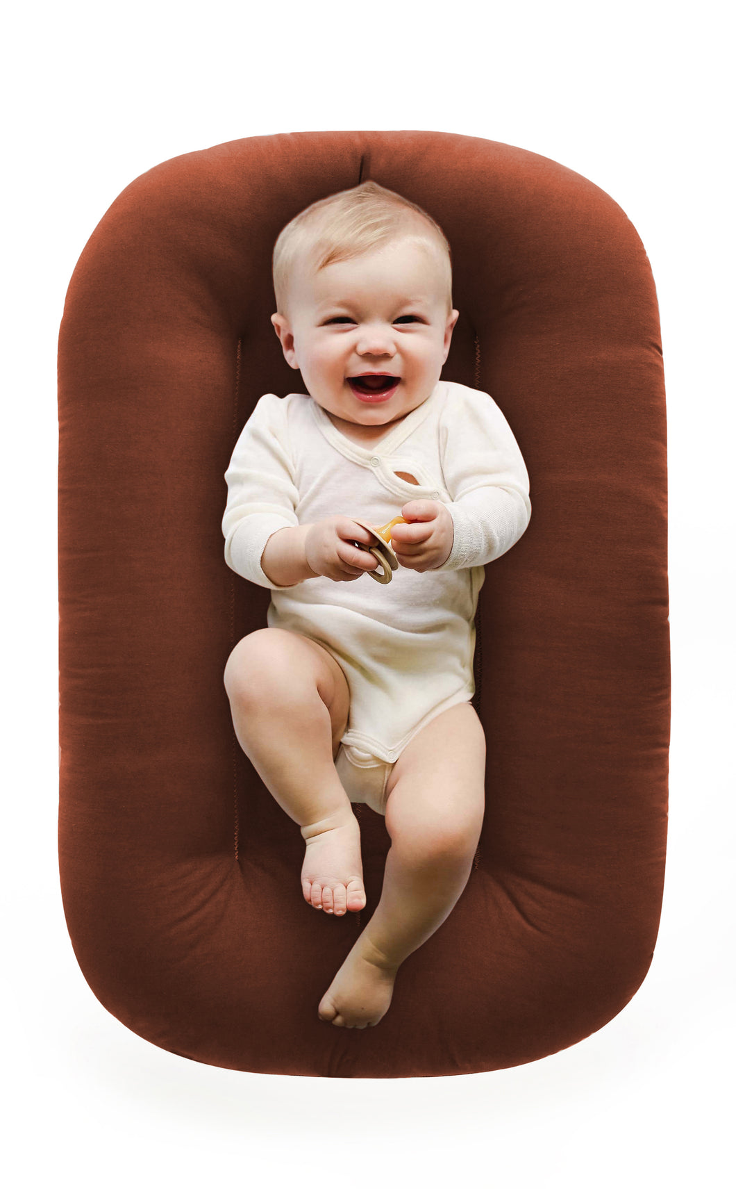 ORGANIC BABY NEST LOUNGE GINGERBREAD