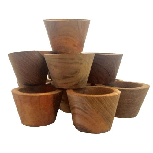 Small Natural Wooden Bowls