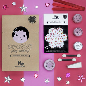 Contents of Pretty Play Makeup Kit for Kids