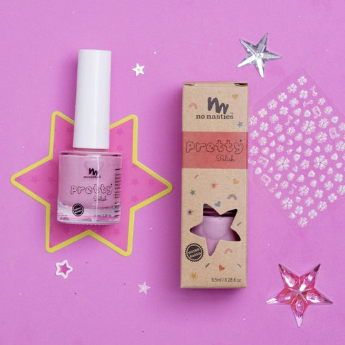 Pink-kids-nail-polish-card-packaging