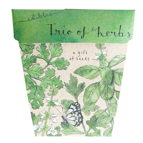 Trio of Herbs Seeds Gift Card