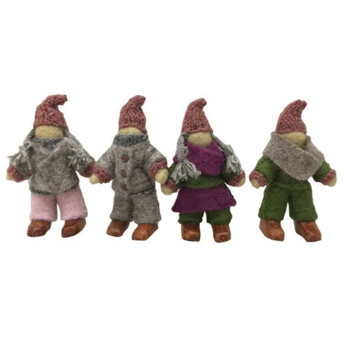 felt-fairy-family-of-4-with-wooden-shoes