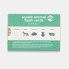 Load image into Gallery viewer, instruction-card-for-your-aussie-animals-flash-cards-pack