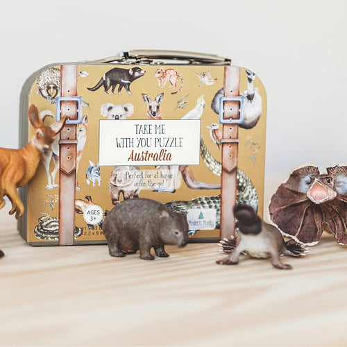puzzle-in-a-mini-suitcase-surrounded-by-plastic-australian-animals