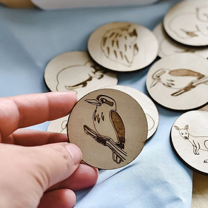 wood-discs-with-aussie-animals-memory-game