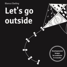 Load image into Gallery viewer, baby book cover called Let's Go Outside