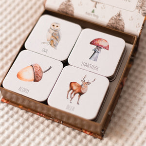 open-box-of-animal-cards-sitting-on-a-table