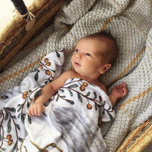 Load image into Gallery viewer, baby-boy-lying-in-bassinet-covered-in-blankets