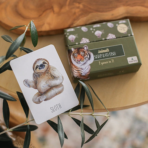 sloth-card-from-snap-card-game-box