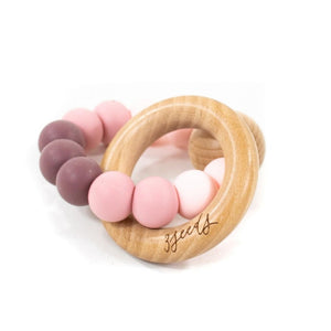 pink-beech-and-silicone-baby-teether