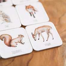 Load image into Gallery viewer, four-animal-cards-on-a-table