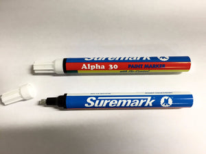 Gold and silver paint marker pens with valve control