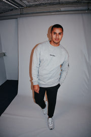 Side Vision Crewneck - Grey