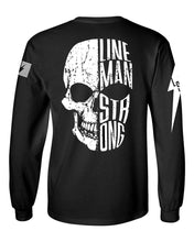 Load image into Gallery viewer, Lineman Skull Divide - Long Sleeve