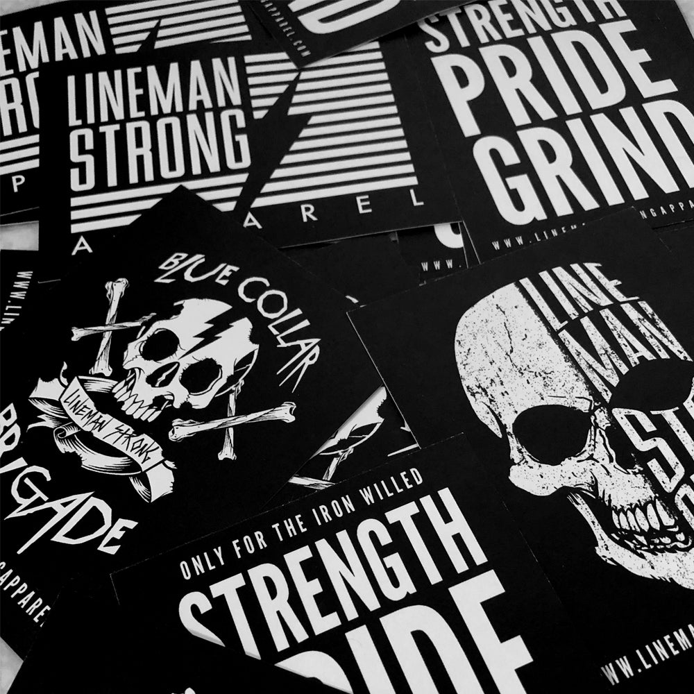 LMS HARD HAT DECALS SET - FREE SHIPPING