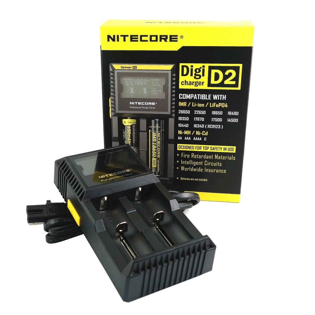 Nitecore D2 Battery Charger