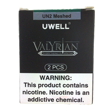 Load image into Gallery viewer, Uwell Valyrian 1 Coils