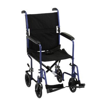 "17"" Transport Chair with Fixed Arms (327)"
