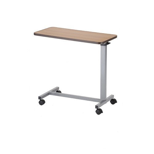 NOVA Overbed Tilt Position Table with Locking Swivel Wheels, Easy Adjustable Bedside Tilt Table, Quick and Easy Assembly