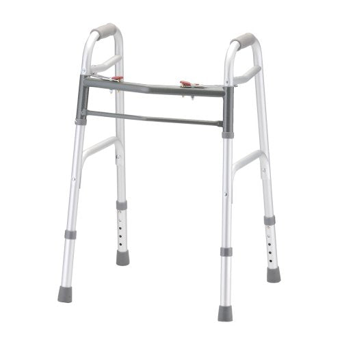 NOVA Medical Products 2-Button Release Folding Walker, Small Pediatric