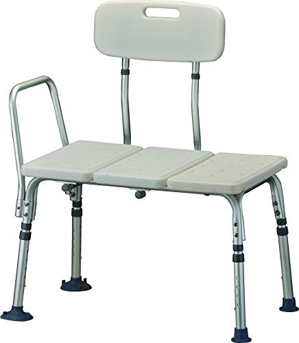 Portable Bath Transfer Bench, White