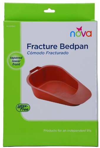 Fracture Bed Pan, Pink