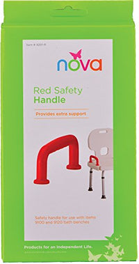 Safety Handle for Bath Bench, Red